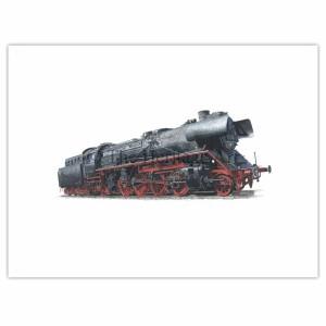 Dampflokomotive-411185-2
